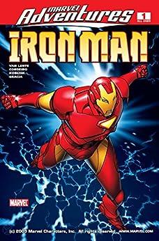 Marvel Adventures Iron Man (2007-2008) #1 by [Fred Van Lente, Michael Golden, James Cordeiro]