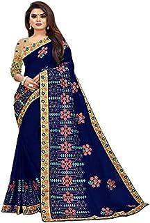 KD Fabulous Women's Pure Cotton Saree With Blouse Piece (KD-A-2-6)