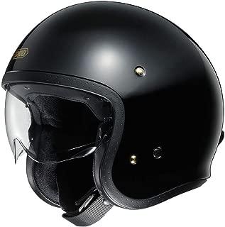 Shoei J O Vintage Open Face Helmet Black/Large (More Size and Color Options)