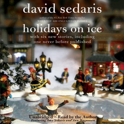Holidays on Ice audiobook cover art