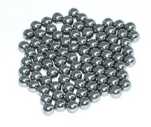 Ora-Tec Metallkugeln Stahlkugeln Munition für Schleuder/Sportschleuder - 90 Stück