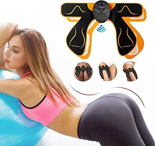 EMS Hüfttrainer,Hip Trainer EMS Trainingsgerät Hip Ausbildung Elektrostimulation EMS Gerät für Gesäßmuskeln Hip Trainer Buttocks Elektrisches Muskelstimulator, Hip Massage für Herren und Damen