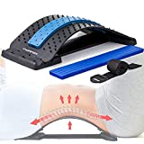 Back Cracker Cracking Device. Help You Relief Back Pain, Stretch & Massage Your Muscle, Also Help Herniated Disc, Sciatica, Scoliosis Pain Relief Products