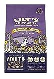 Lily's Kitchen Pienso Completo de Salmón y Trucha para Perros Adultos 8+ (Pack of 4 x 1 kg)