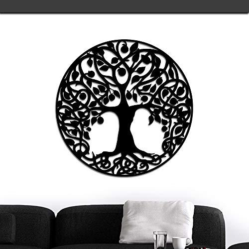 ArtBones Tree of Life Metal Wall Art Hanging Iron Sculptures Metal Wall Art Family Tree Sign 24inchx24inch