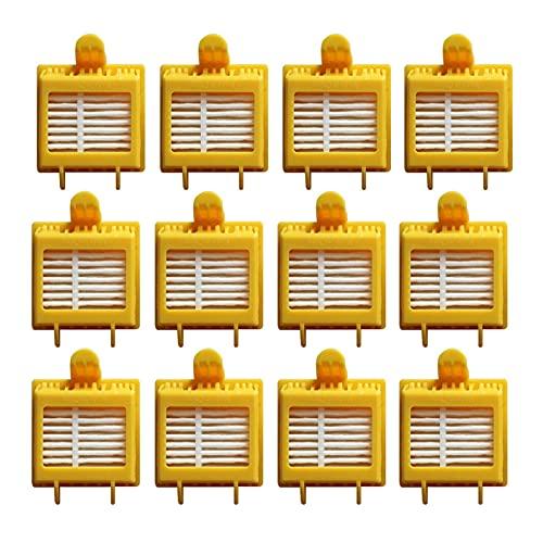 Peter LI Batidor Flexible Brocha Armada Aero Vac Filter Cepillo Lateral Ajuste para irobot roomba 750 760 765 770 774 775 776 782 785 786 780 790 (Color : 10.99)