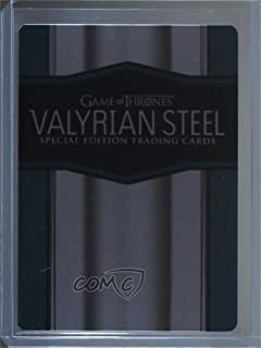 Valyrian Steel (Trading Card) 2017 Rittenhouse Game of Thrones: Valyrian Steel - Promos #CT1