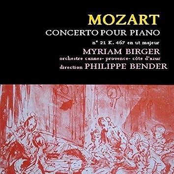 Mozart: Concerto pour piano et orchestre No. 21, K. 467