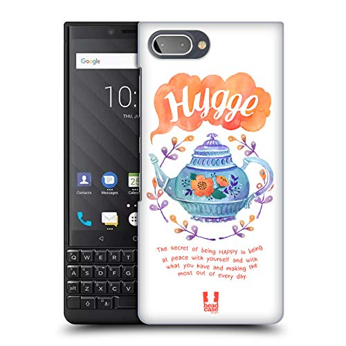 Head Case Designs Wasserkocher Hygge Harte Rueckseiten Huelle kompatibel mit BlackBerry KEY2