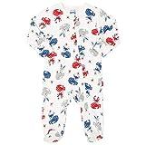 Kite Baby Reindeer Sleepsuit | Organic | Newborn-24 Months Cream