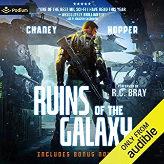 Page de couverture de Ruins of the Galaxy