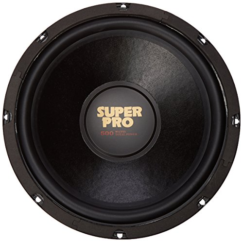 10 Inch Car Subwoofer Speaker - 500 Watt High Powered Car Audio Sound Component Speaker System w/ 2 Inch High-Temperature Kapton Voice Coil, 85.6 dB, 8 Ohm, 60 oz Magnet - Pyramid PW1048USX