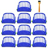 ilovelife Kit de Repuesto de filtros AeroVac – Paquete de 10 filtros de Alta eficiencia compatibles con iRobot Roomba 500 600 Series – Accesorios de Filtro de reposición para aspiradora, Color...