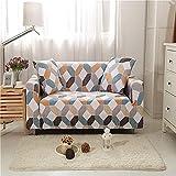 ADIS Fundas elásticas seccionales elásticas para sofá para sala de estar, funda de sillón en forma de L, funda para sillones individual/dos/tres asientos-H_90-140 cm