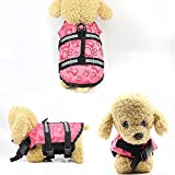 Lloow Hunde-Schwimmweste, wasserdicht, verstellbar, für Katzen, Haustiere, Urlaub, Sicherheitsweste...