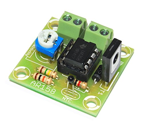 ArliKits AR158 Steuergerät für Lüfter Temperaturregler PC-Lüftersteuerung Bausatz