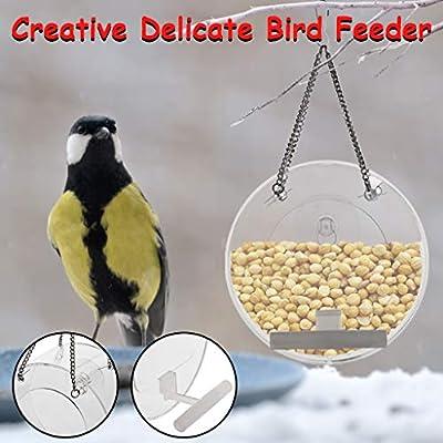 MORECON Bird Feeder Hanging for Garden Yard Dec...