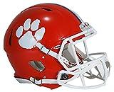 Riddell Sports NCAA Clemson Tigers Speed Authentic Helmet, Orange
