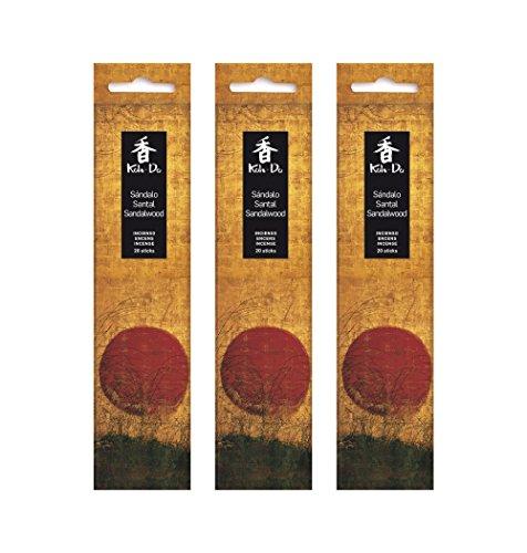 Tierra Zen Set Lot de 3 Koh Do Santal Encens, Taille Unique