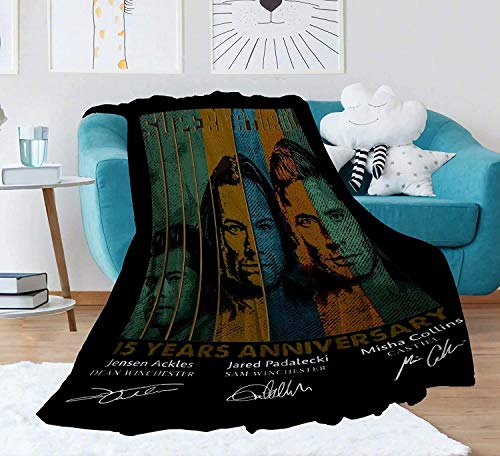 HUYIN Throw Blanket-Tv Show 17-mall 50 x 40 in for Kids