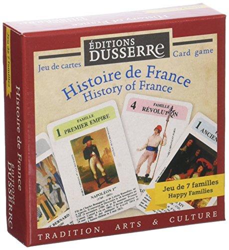 Editions Dusserre 7 Familles Histoire De France-Jeu Historique, DUF01
