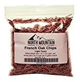North Mountain Supply French Oak Chips (Light Toast, 4 Ounce)