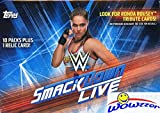 2019 Topps WWE SMACKDOWN LIVE! EXCLUSIVE Factory...