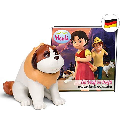 tonies Hörfiguren für Toniebox - Heidi - EIN Wolf im Dörfli - ca. 64 Min. - Ab 5 Jahre -DEUTSCH