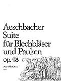 AESCHBACHER W. - Suite para Instrumentos de Viento Metal y Percusion (Partitura)