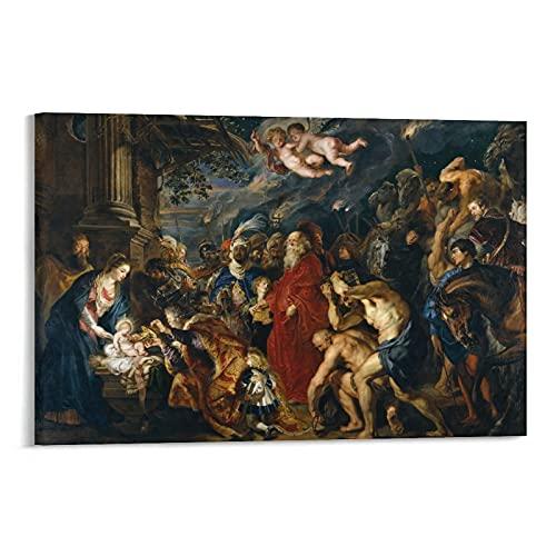 Peter Paul Rubens - Cuadro decorativo para pared (30 x 45 cm)