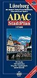 ADAC StadtPlan Lüneburg mit Adendorf, Deutsch Evern, Reppenstedt, Scharnebeck un (ADAC Stadtpläne)