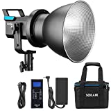 Sokani X60 V2 LED Video Light with Bag Kit 80W 5600K Daylight Outdoor Photography lights with Bowens Mount 2.4G Remote Controller(Improved Fan Noise, version 2 LED Light.)