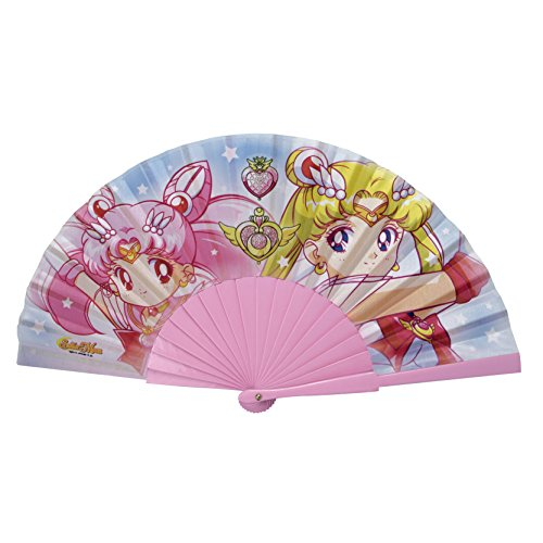 ABYstyle - Sailor Moon Eventail Sailor Moon & Chibi Moon