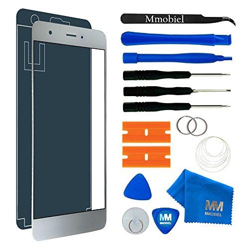 MMOBIEL Front Glas Display Scherm Compatibel met Huawei Nova (wit) incl. Reparatie Tools