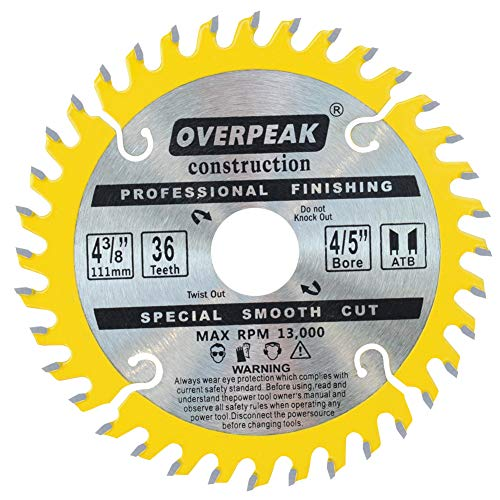 OVERPEAK 7-1/4″ Circular Saw Blade