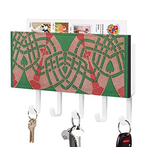 Soporte para llaves de pared para colgar correo, organizador