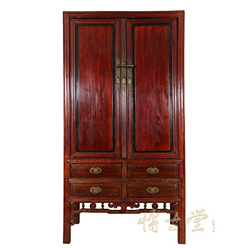 Learn More About Chinese Antique Carved Beech wood TV Armoire 13LP17