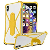 i-Tronixs (Yellow) Stretchy Phone Case Cover for Archos 50