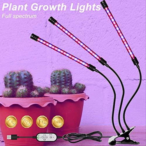 Plante lampe uv Interieur Lumière Usb Usine Lampe Led Éclairage Croissant Intérieur Plein Spectre Led Hydroponique Lumière 5 V Led Phyto Lampe 9 W 18 W 27 W Garantie de deux ans Port USB 3 têtes