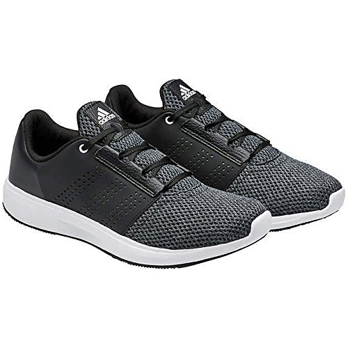 adidas Men's Madoru 2 M Running Shoes with Ortholite Insoles (8, Black)
