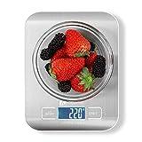 Báscula Digital de Cocina Houzetek Balanza para Comida de Alta Precisión con...