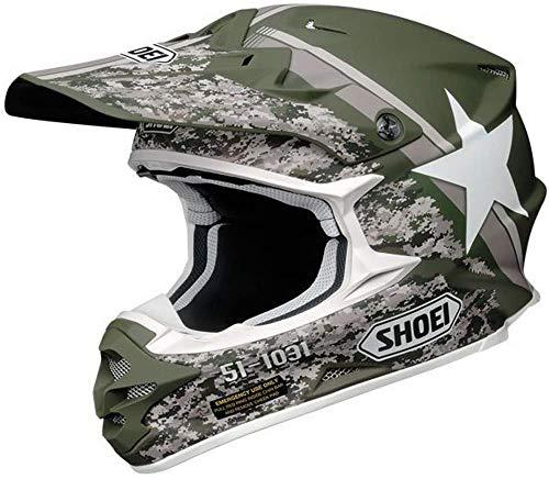 Shoei VFX-W Super Hue TC-4 Crosshelm, Farbe grün-grau, Größe XS (53/54)