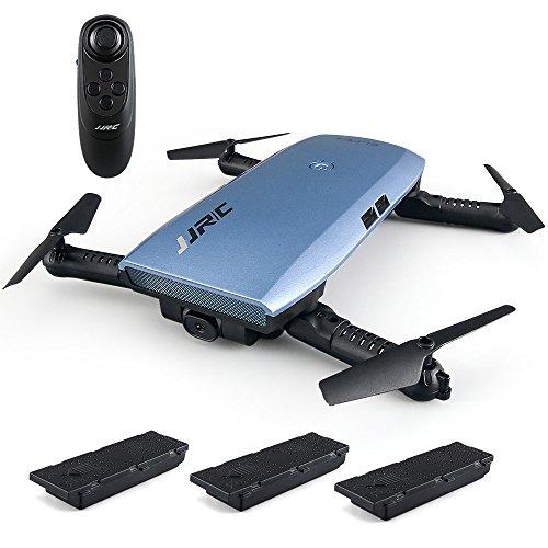 Goolsky JJR / C H47 720P Telecamera WiFi FPV Drone Altitudine Hold G-sensore Controllo Pieghevole RC Selfie Quadcopter con Due Battrie Extra