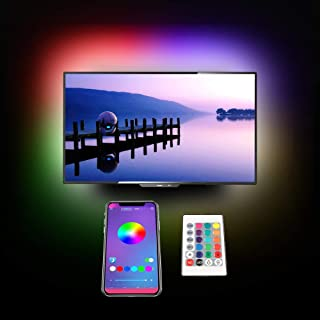 LED Strip Lights,Cartaoo 16.5ft LED Rope Lights Flexible Color Changing Lights 5050 RGB LED Tape Lights with APP Controller Sync to Music Apply for Home,TV,Bedroom,Kitchen,Festival,Party Decoration