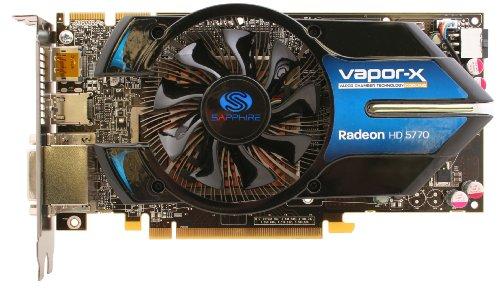Sapphire Radeon Vapor-X HD 57701GB DDR5–Tarjeta gráfica Pci-Express 100283VXL