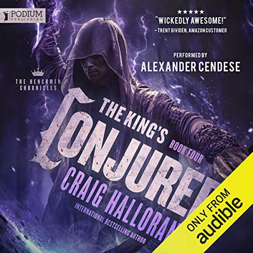 The King's Conjurer audiobook cover art