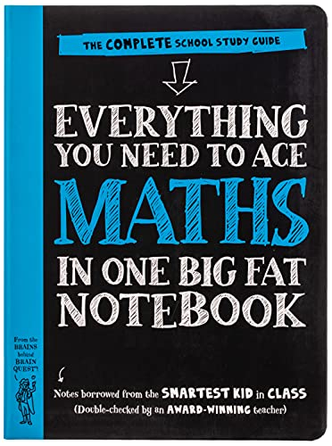 Everything You Need to Ace Maths in One Big Fat Notebook: The Complete School Study Guide (Big Fat Notebooks)