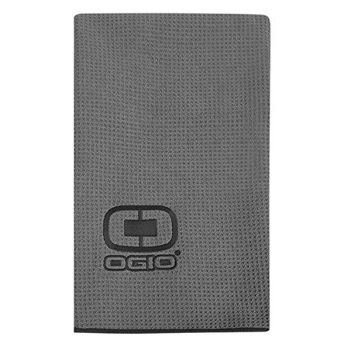 OGIO Golf Handtuch, Einheitsgröße, Grau/Schwarz