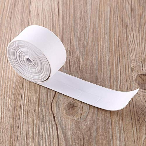 3.4mx38mm Badkamer Douchebak Bad Afdichtstrip Tape Wit PVC Zelfklevende Waterdichte Muursticker voor Badkamer Keuken, Wit, China