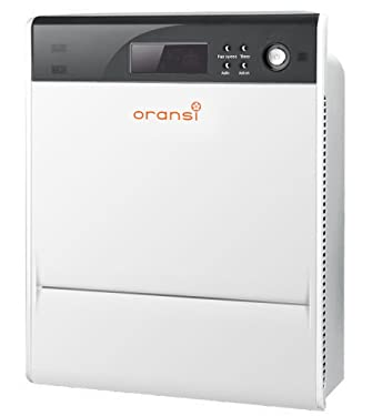 """Oransi Max HEPA Large Room Air Purifier for Asthma Mold, Dust and Allergies, 17""""x22""""x8"""", White"""